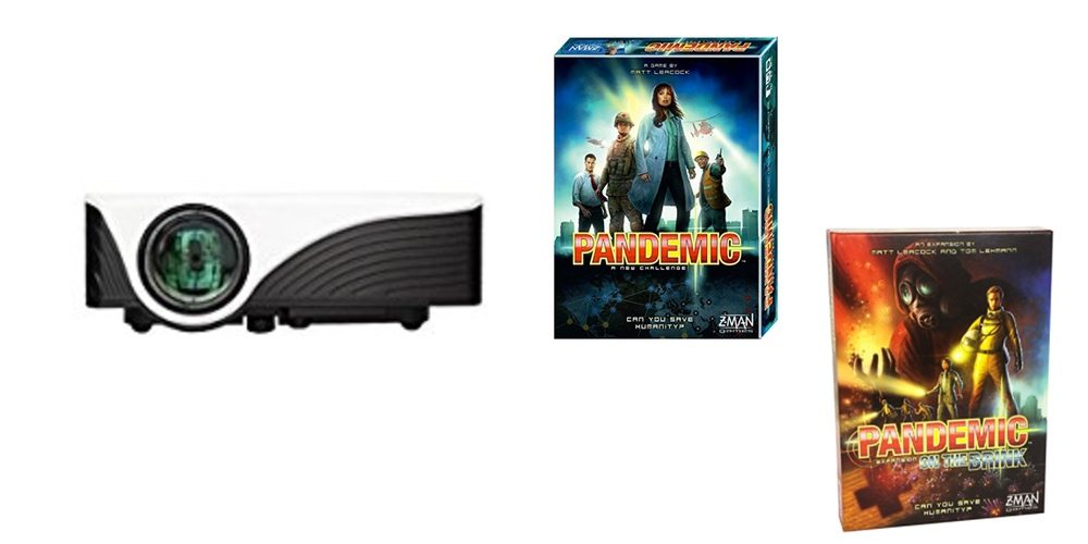 Get a Projector for Under $70, Save Big on the 'Pandemic' Boardgame and Expansion – Daily Deals!