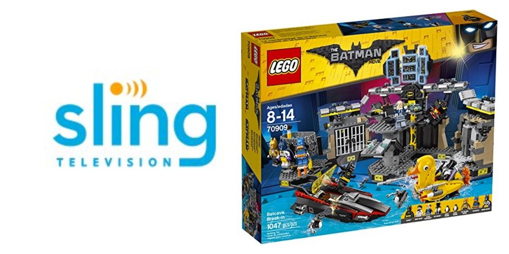 Cord Cutters Save on a 2-for-1 Deal on Sling TV, Get 'The LEGO Batman Movie' LEGO Kits – Daily Deals!