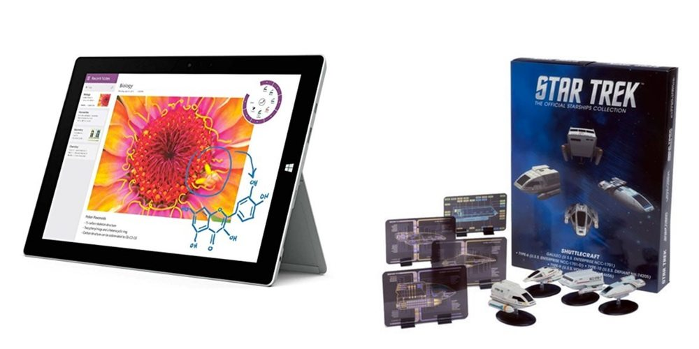 Save Up to $120 Off Microsoft Surface Pro Tablets, Get High-Quality 'Star Trek' Shuttlecraft – Daily Deals!