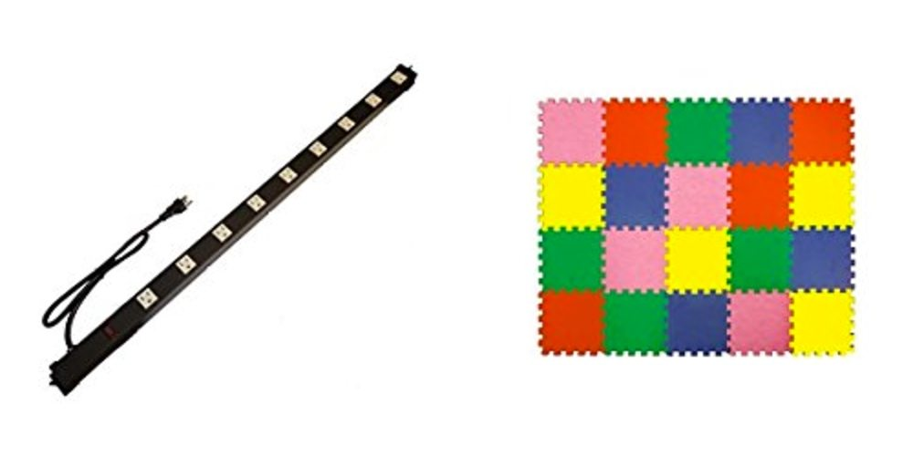 Save Big on a Mega-Power Strip, Cover Your Playroom Colorfully With Today's Daily Deals!
