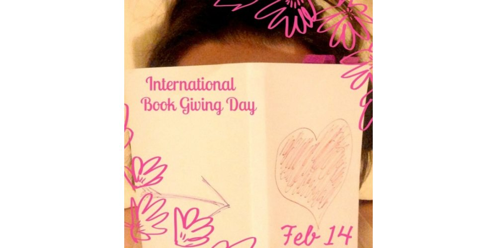 Valentine's Day Alternative: International Book Giving Day