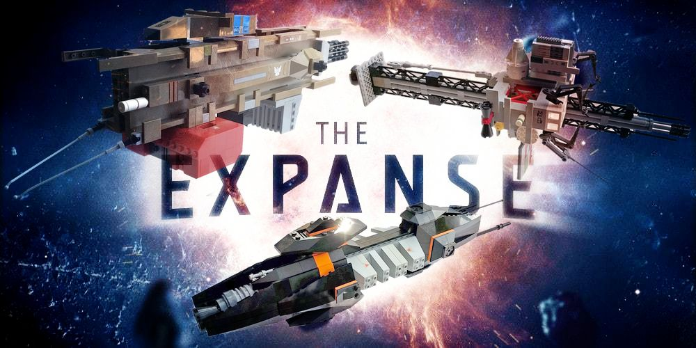 Expanding the Universe With 'The Expanse' LEGO Spaceships