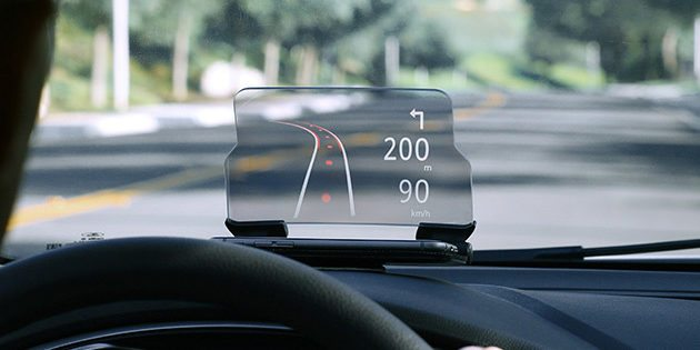 GeekDad Daily Deal: HUDWAY Glass Heads-Up Navigation Display
