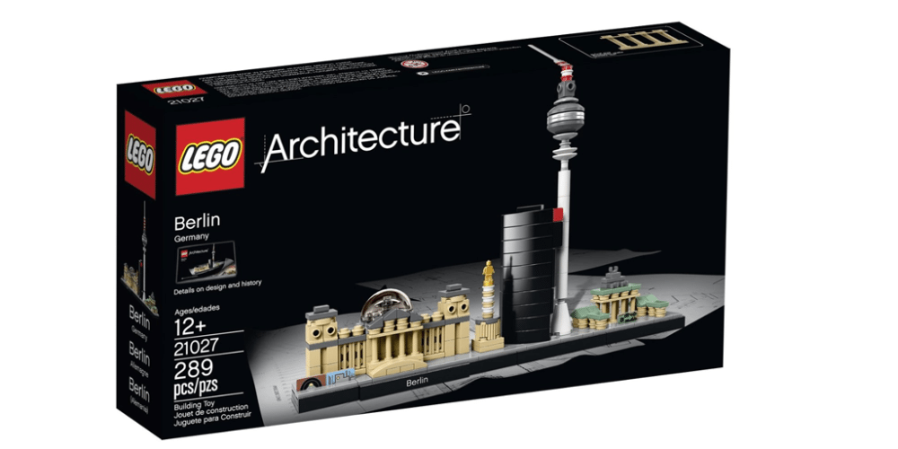 Build Your Understanding of Germany With LEGO Architecture: Berlin