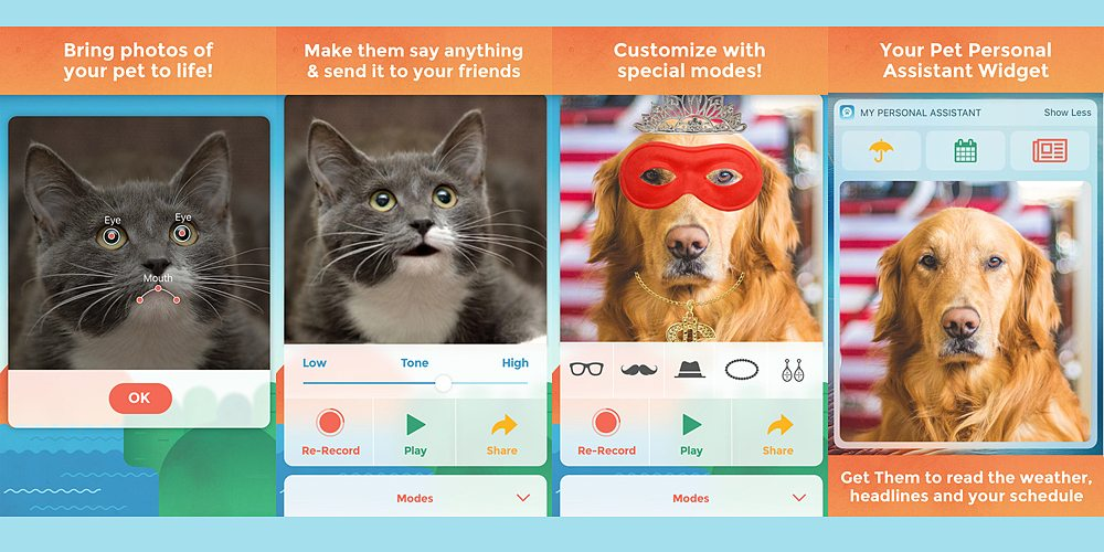 'My Talking Pet' Offers Surprising Scope for Creativity