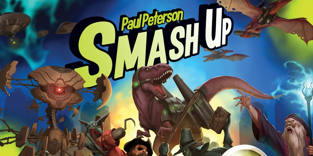 Robots, Pirates, Dinosaurs and More Collide in 'Smash Up'