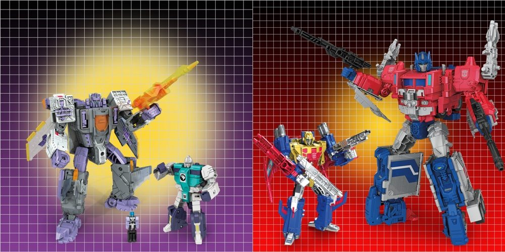 Toy Fair 2017: Hasbro's Titans Return Digs Deeper Into Transformers History