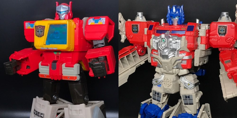 Reprolabels Brings Out Hidden Details in Transformers Titans Return Blaster & Optimus, Plus a Giveaway!