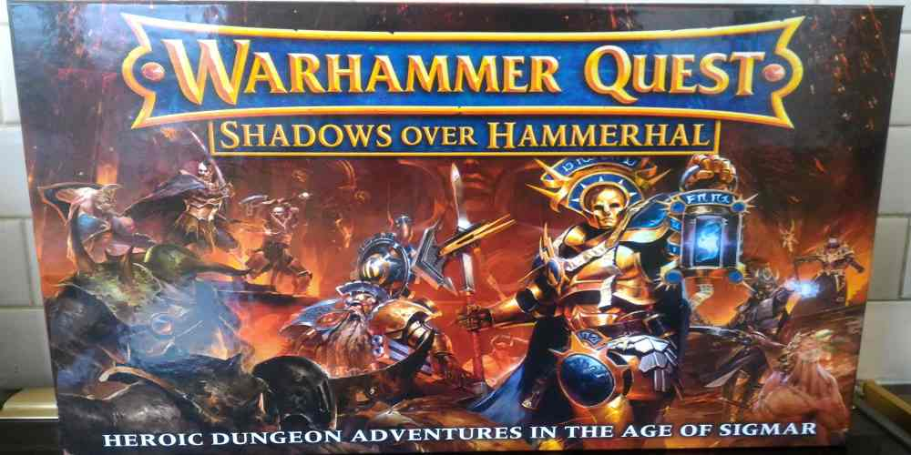 Unboxing 'Warhammer Quest: Shadows Over Hammerhal'