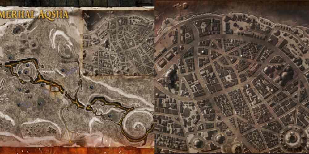 hammehal map