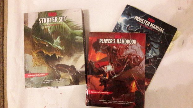 D&D starter set, PHB and MM
