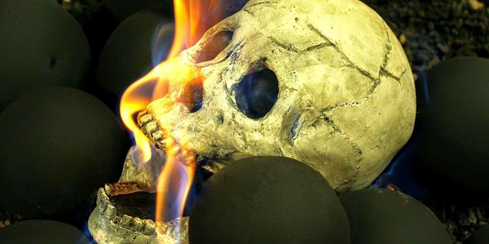 You Can Buy Skulls for Your Fire Pit from Amazon Now