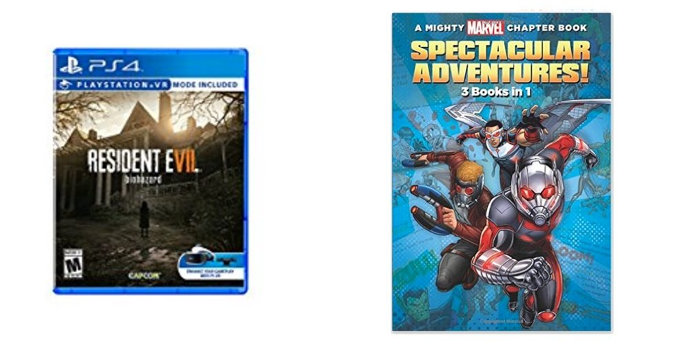 Save $20 on 'Resident Evil 7,' Get Your Kids Reading With 'Mighty Marvel Chapter Books' – Daily Deals!