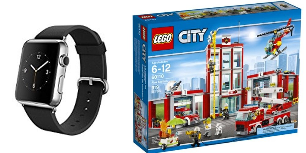 Get a 1st Gen Apple Watch for $70 Off; Put Out Some LEGO City Fires With These Daily Deals!