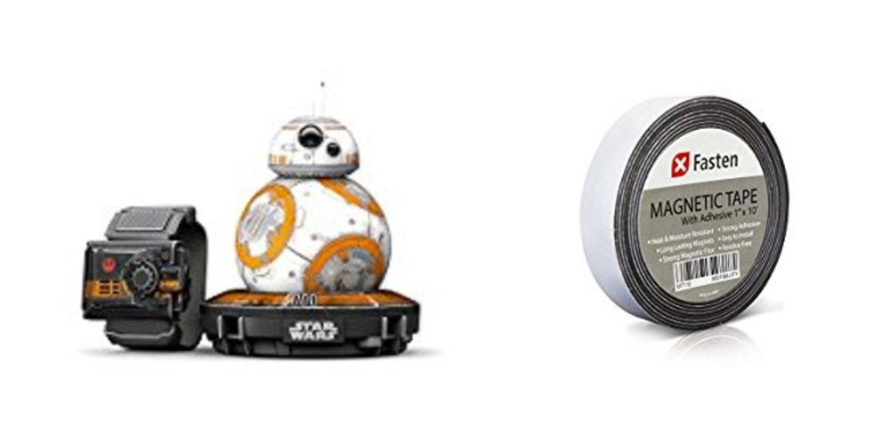 Get the Sphero BB-8 for $55 Off! Try Some Magnetic Tape for Fun and DIY – Daily Deals!