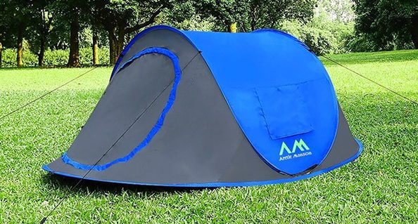 Pitch a tent with todayu0027s Daily Deal the Arctic Monsoon Instant Pop Up Tent. Because of the way itu0027s designed you just toss it in the air and it opens up ... & GeekDad Daily Deal: Arctic Monsoon Instant Pop Up Tent - GeekDad