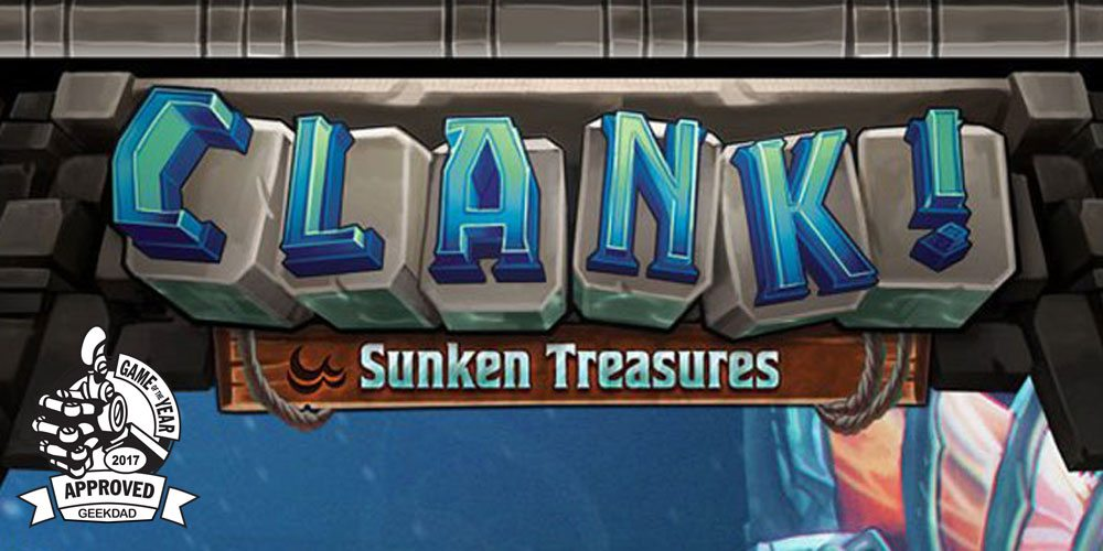 'Sunken Treasures' Expansion Takes 'Clank!' to New Depths