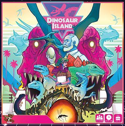 Dinosaur Island Box Art, Image: Pandasaurus Games
