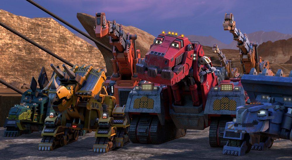 Exclusive Peek at 'Dinotrux' Season 4