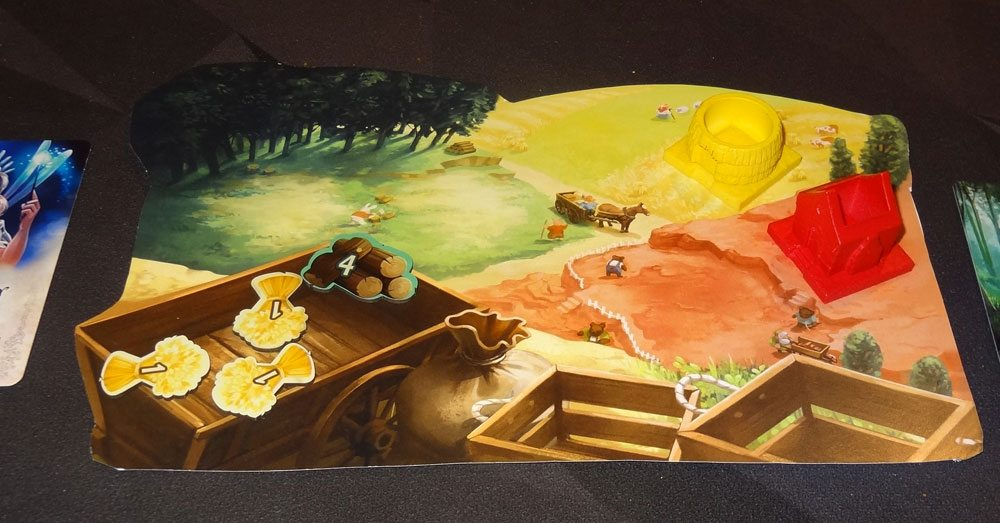 The Grimm Forest player mat