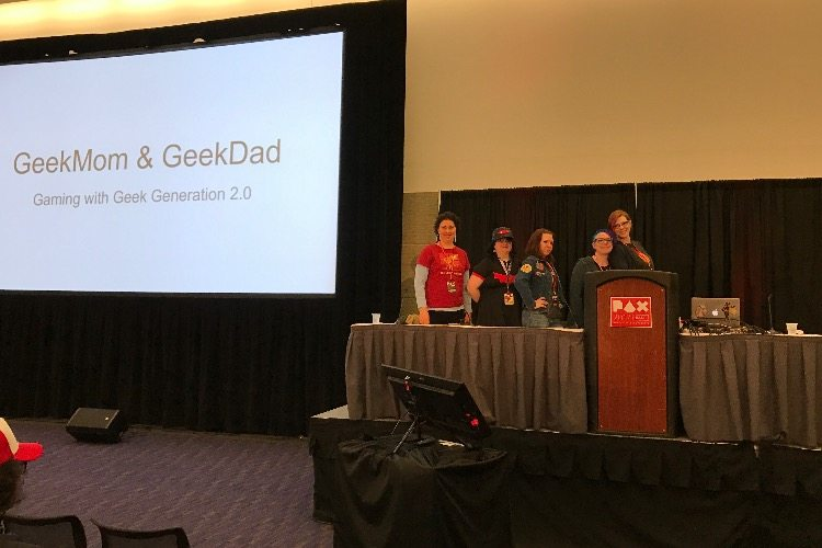 PAX East Panel 2017: Gaming with Your Kids