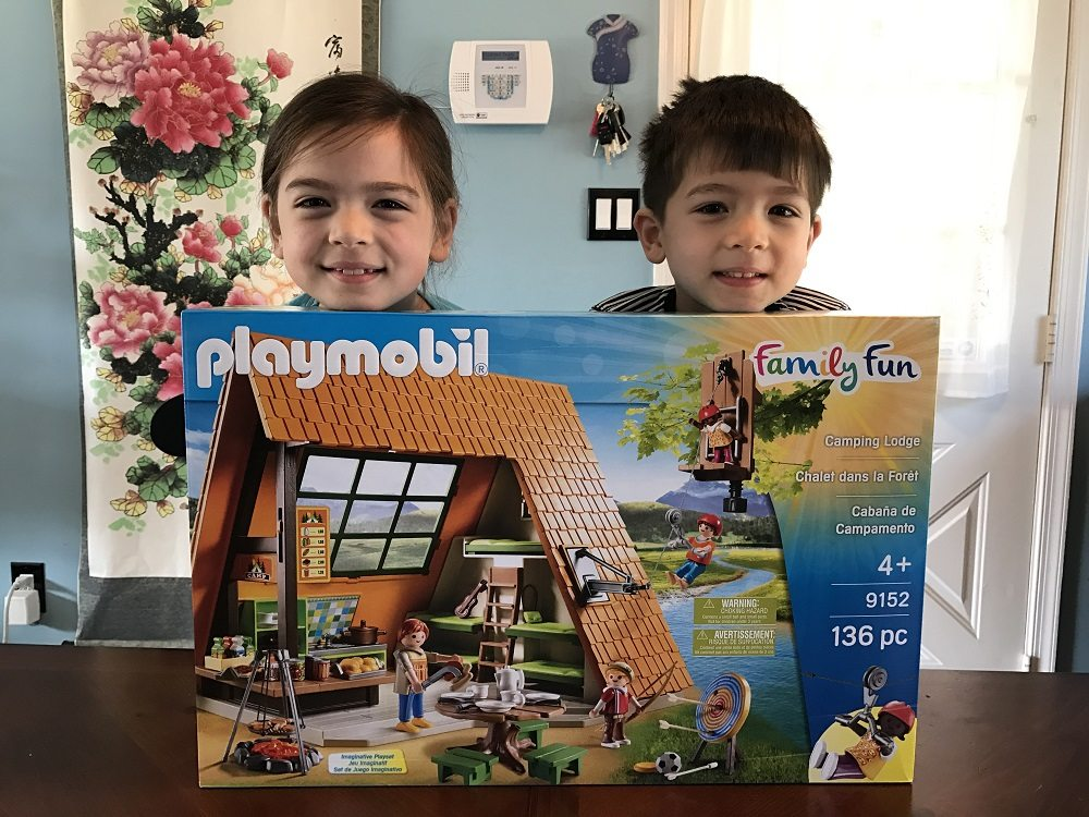Playmobil Playroom: Camping Lodge