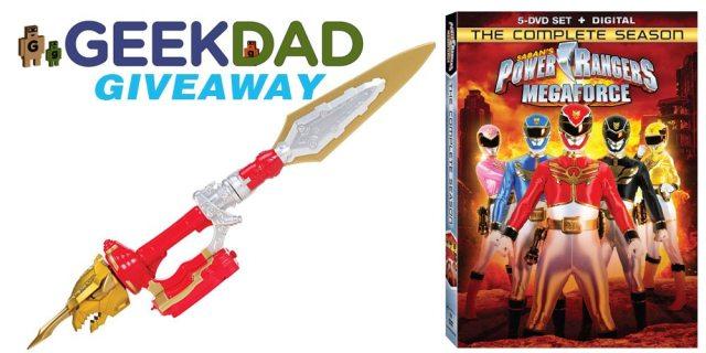 Saban's Power Rangers Megafoce DVD giveaway promo