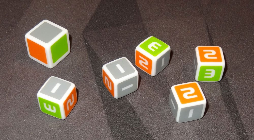 Rally Roll dice