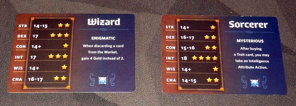 Roll Player class card