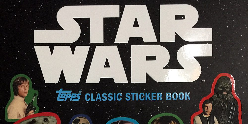 Enjoy Nostalgia With the 'Star Wars: Topps Classic Sticker Book'