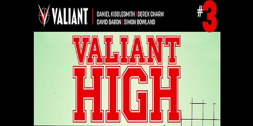 GeekMom Exclusive: Valiant High #3 Cover Art and Process Art