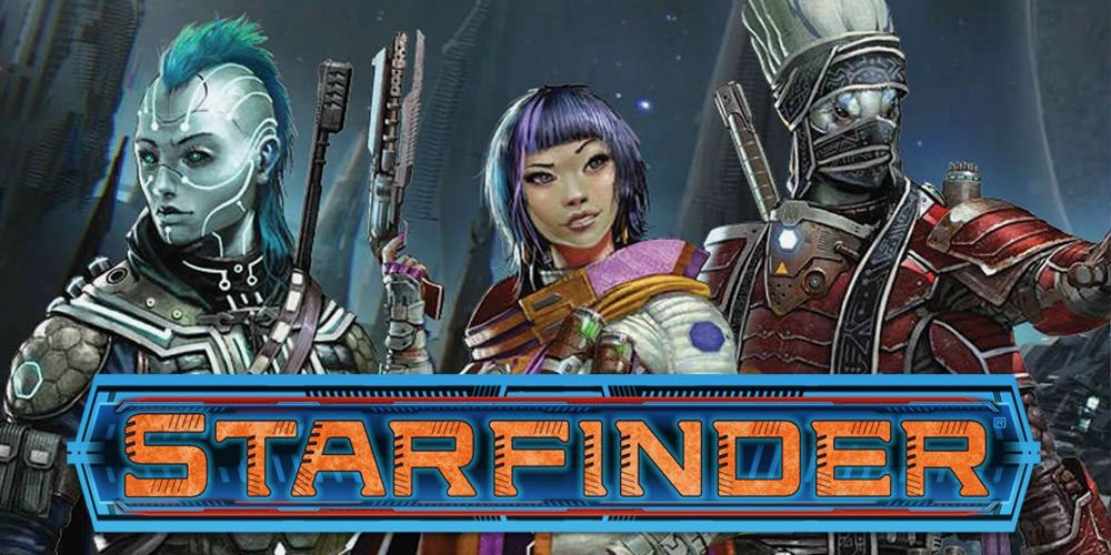 Retrieve 'Starfinder RPG.' Priority One. All Other Priorities Rescinded.