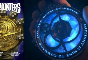 Trollhunters book cover, amulet