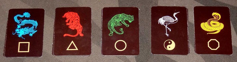 Wu Wei animal cards