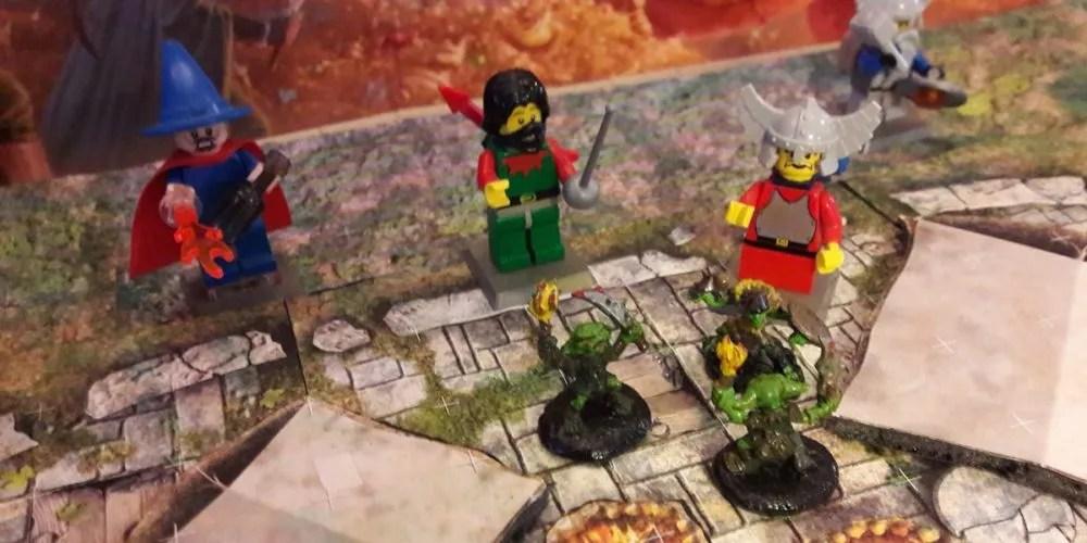 Dungens & Dragons LEGO goblin ambush
