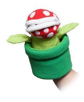Super Mario Piranha Hand Puppet