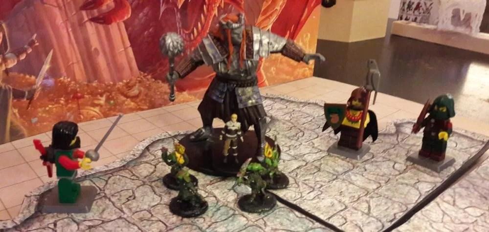 LEGO D&D battle2