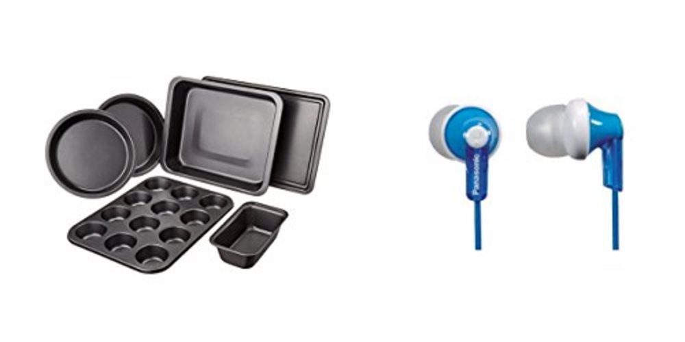 Save Big on Basic Bakeware; Get Earbuds for $7 – Check Out the Daily Deals!
