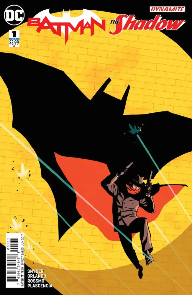 Batman/The Shadow #1, Cliff Chiang variant cover