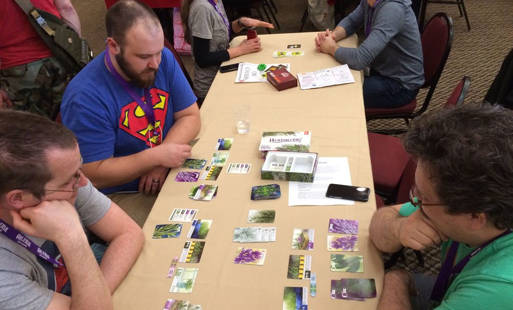 Herbaceous at GameStorm