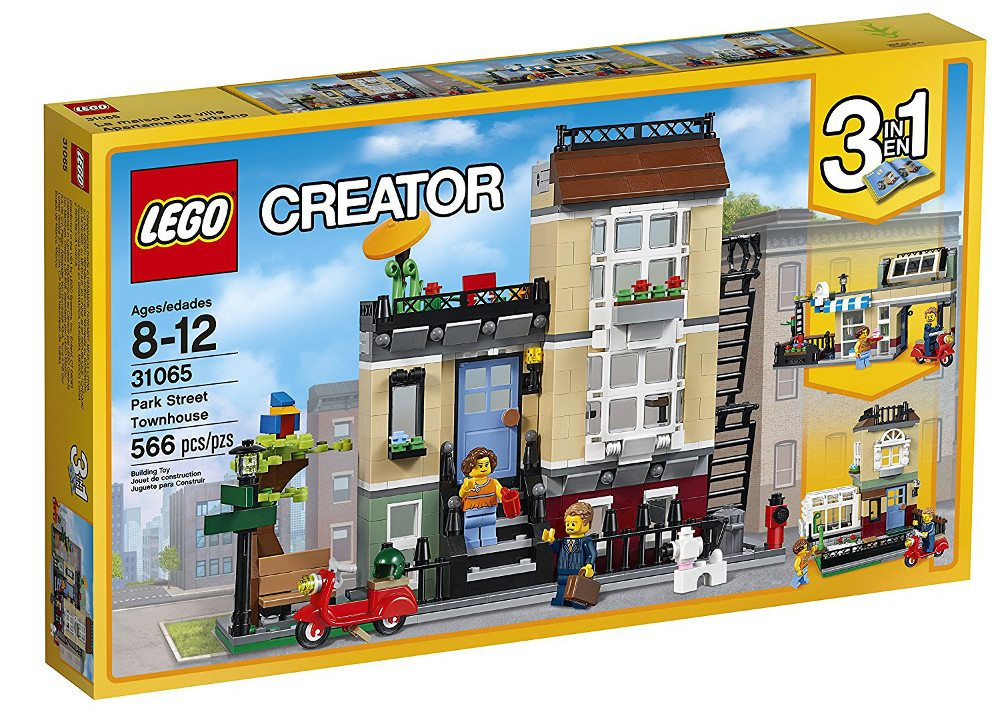 Review: LEGO Creator's Park Street Townhouse 3-in-1 Set