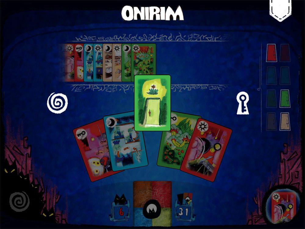 Onirim app door