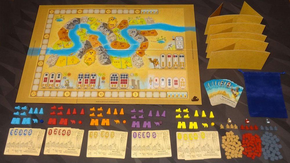 Sailing Toward Osiris components