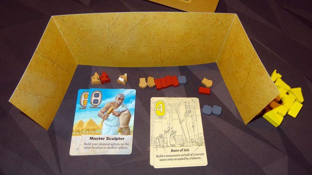 Sailing Toward Osiris player screen