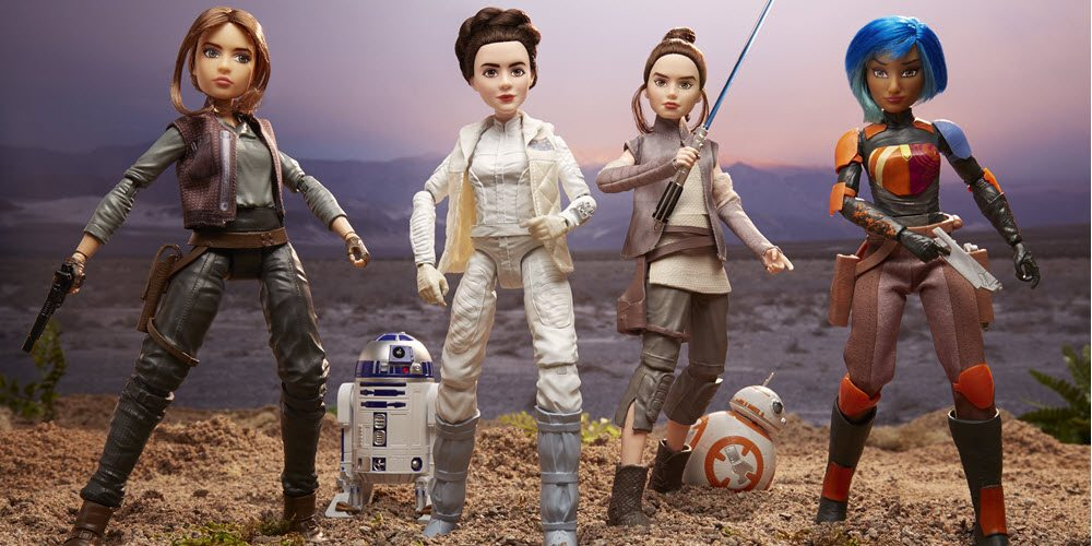 'Star Wars: Forces of Destiny' Figures Give Us Rey, Leia, and a Whole Lot More