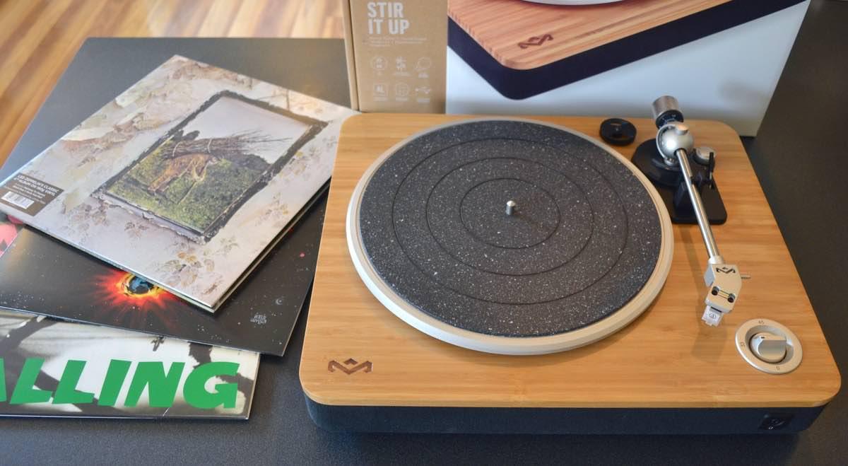 GeekDad Review: House of Marley Stir It Up Turntable - GeekDad