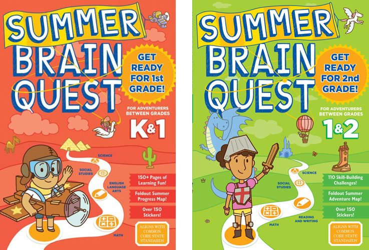 Summer Brain Quest covers