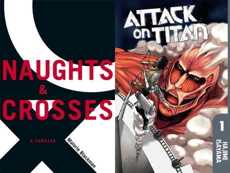 Naughts and Crosses and Attack on Titan Cover