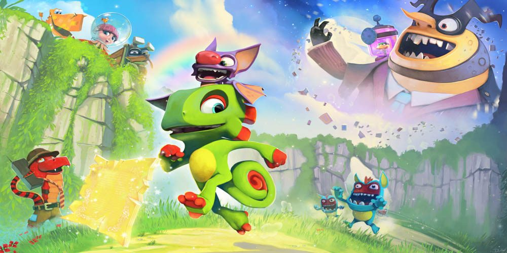 'Yooka-Laylee' PS4 Review
