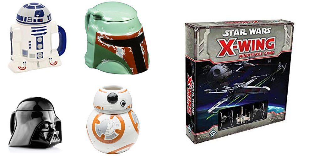 'Star Wars' Ceramic Mugs As Low As $10; 'Star Wars: X-Wing' For $39 – May the Fourth Daily Deals!